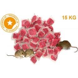 Trutka na myszy i szczury PASTA MURIBROM 15 KG