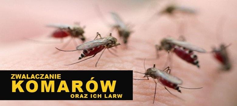 Najlepsze i tanie opryski na komary i larwy komarów